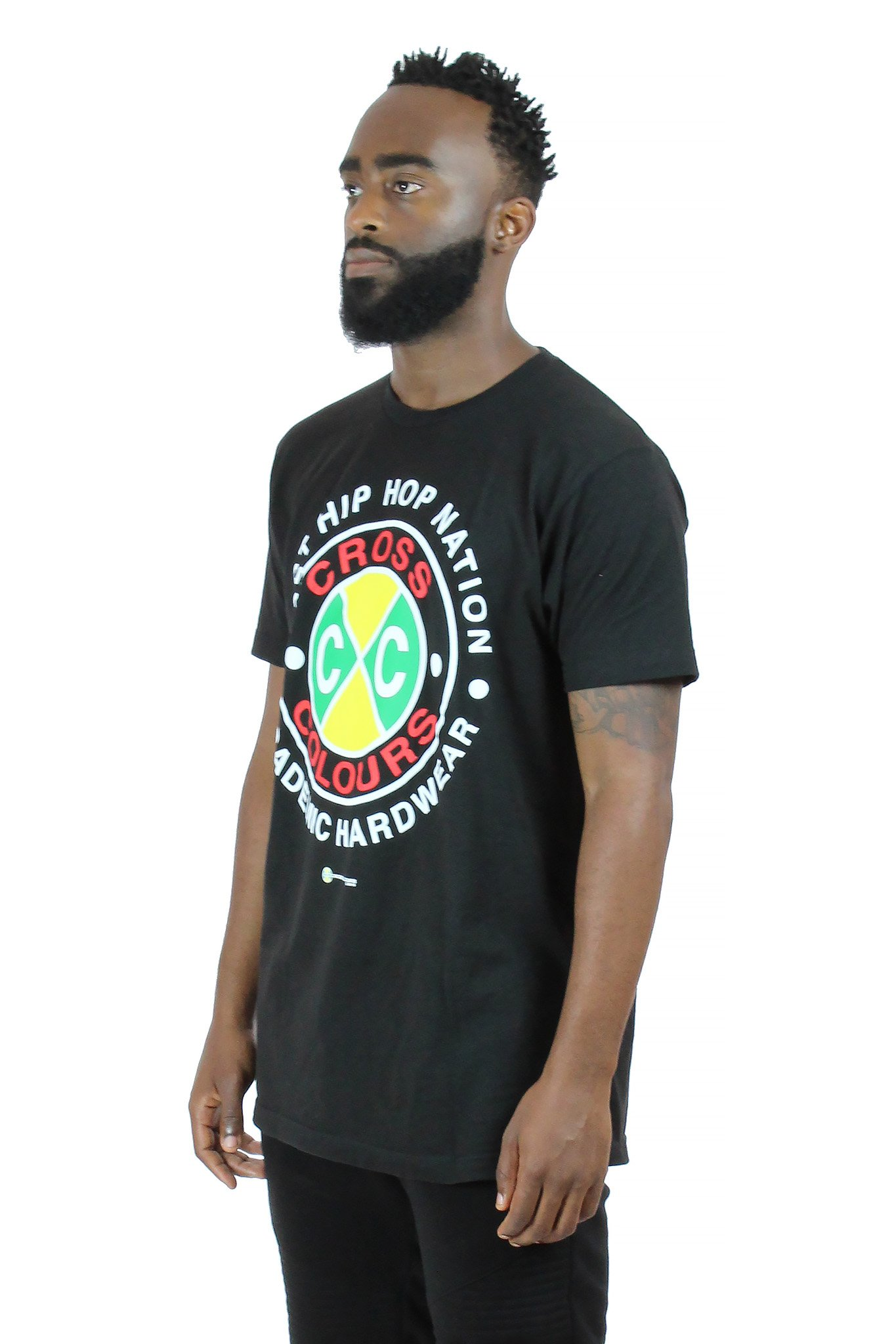 Cross_Colours_Academic_Hardwear_TShirt_Black