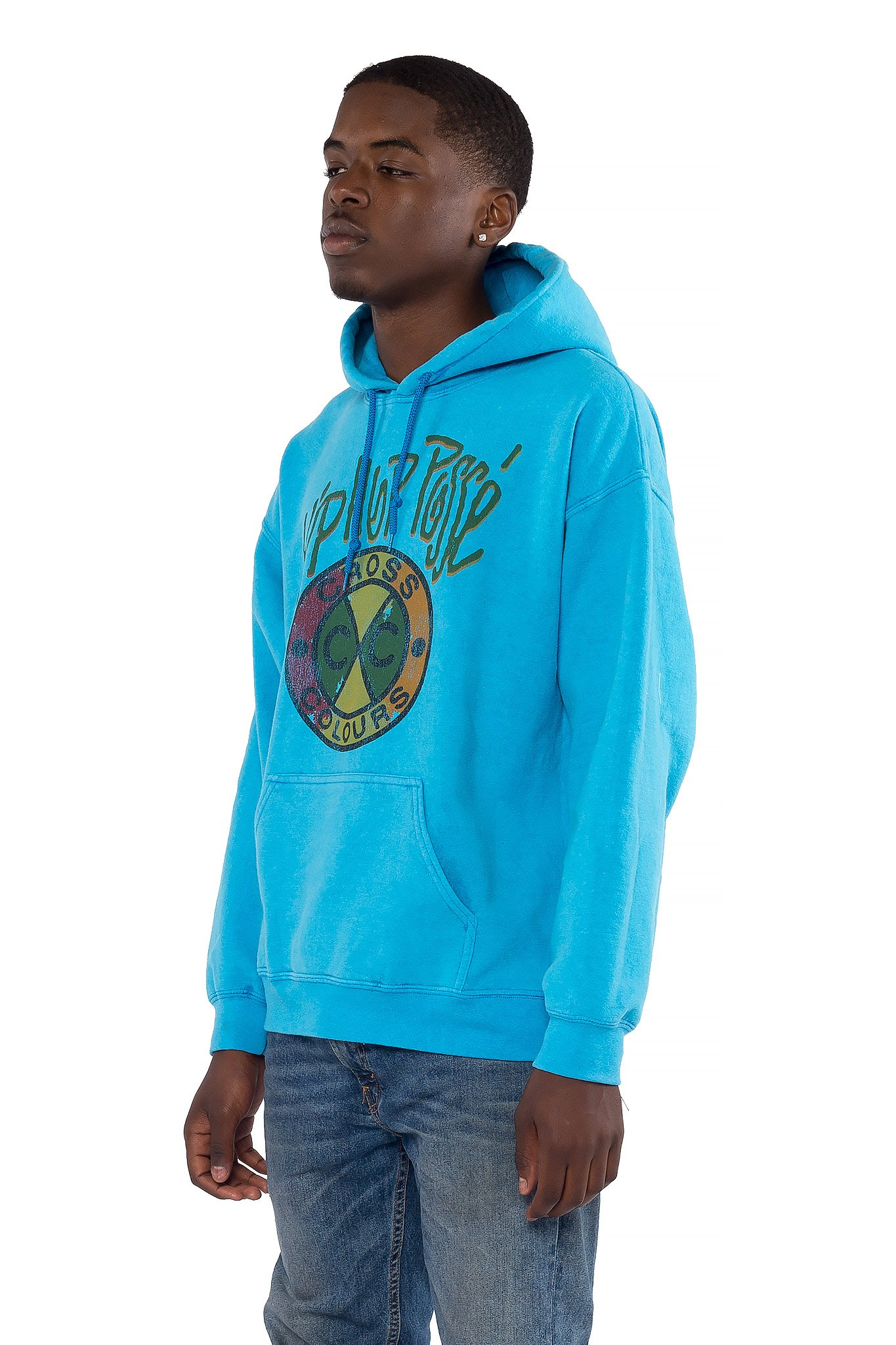 Cross_Colours_Hip_Hop_Posse_Pullover_Hoodie__Turq