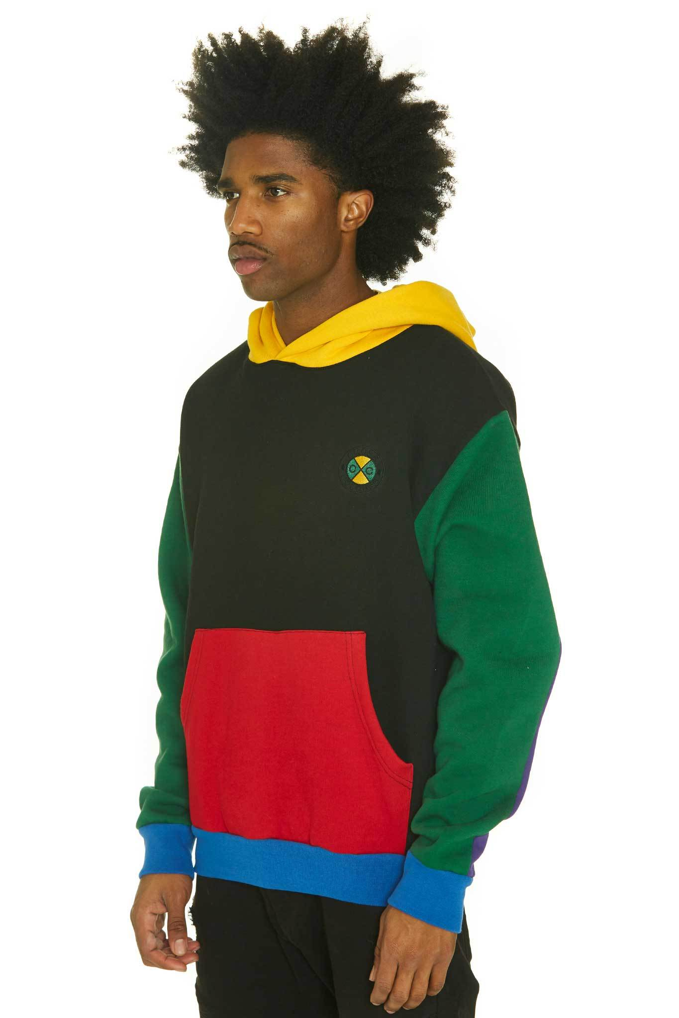 Cross_Colours_Color_Block_Pullover_Hoodie__Multi