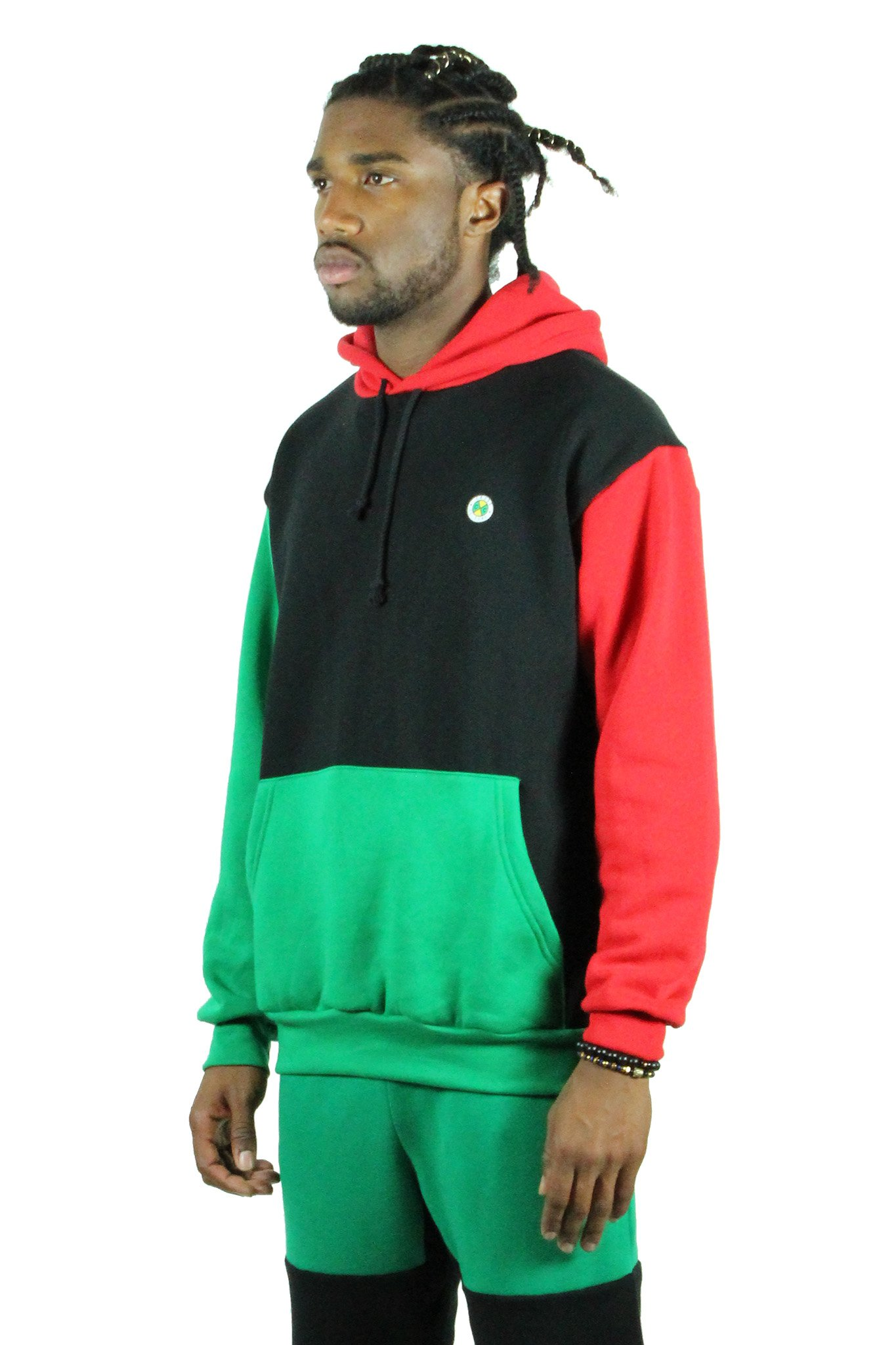 Cross_Colours_Block_Pullover_Hoodie__RedBlackGreen