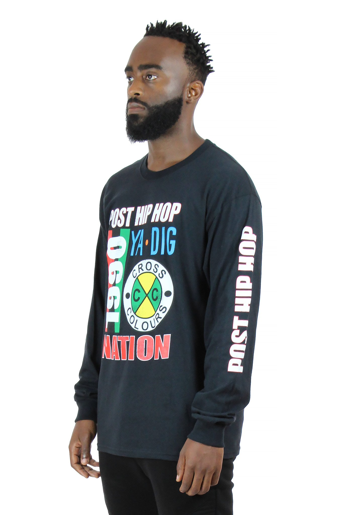 Cross_Colours_Post_Hip_Hop_Nation_LS_TShirt__Black