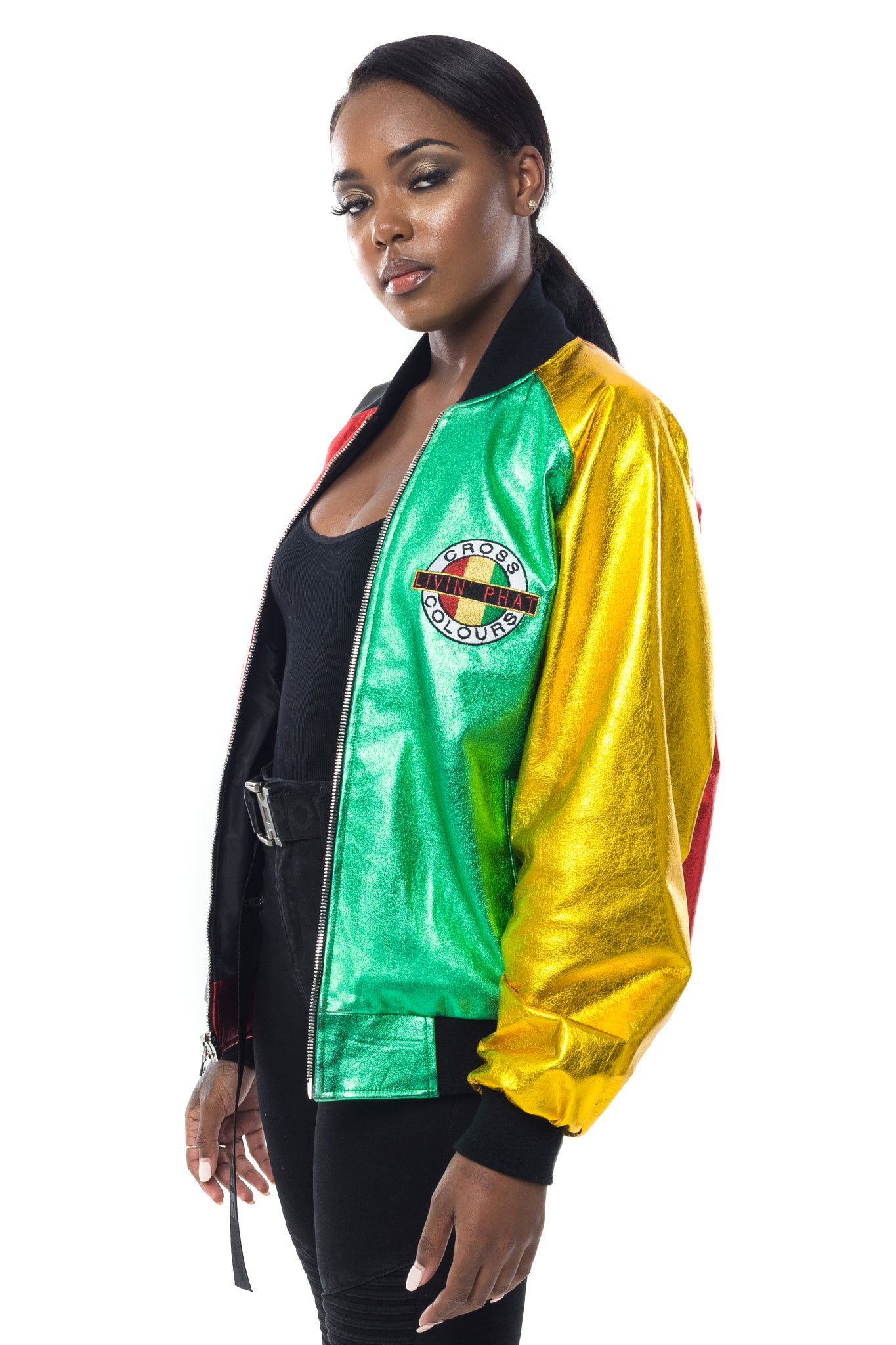 Cross_Colours_Living_Phat_Metallic_Leather_Jacket_W__Multi