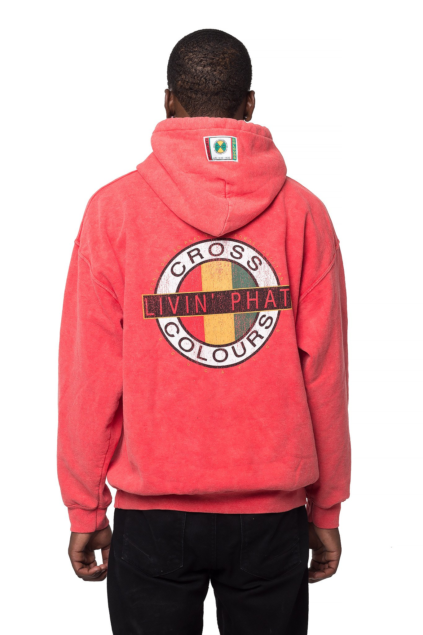 Cross_Colours_Living_Phat_Hoodie__Red