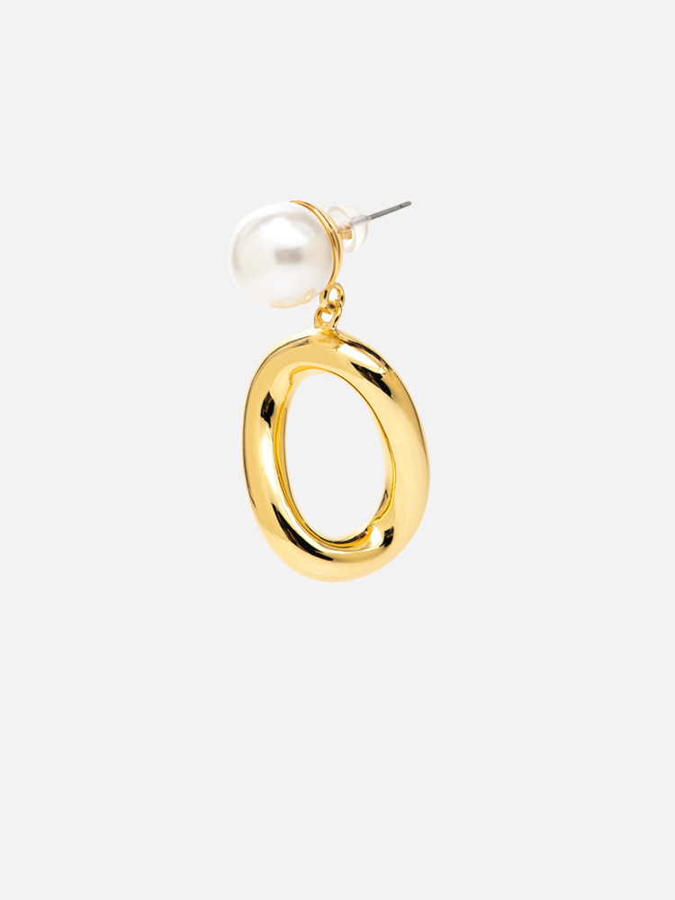 Pearl_&_Hoop_Earrings