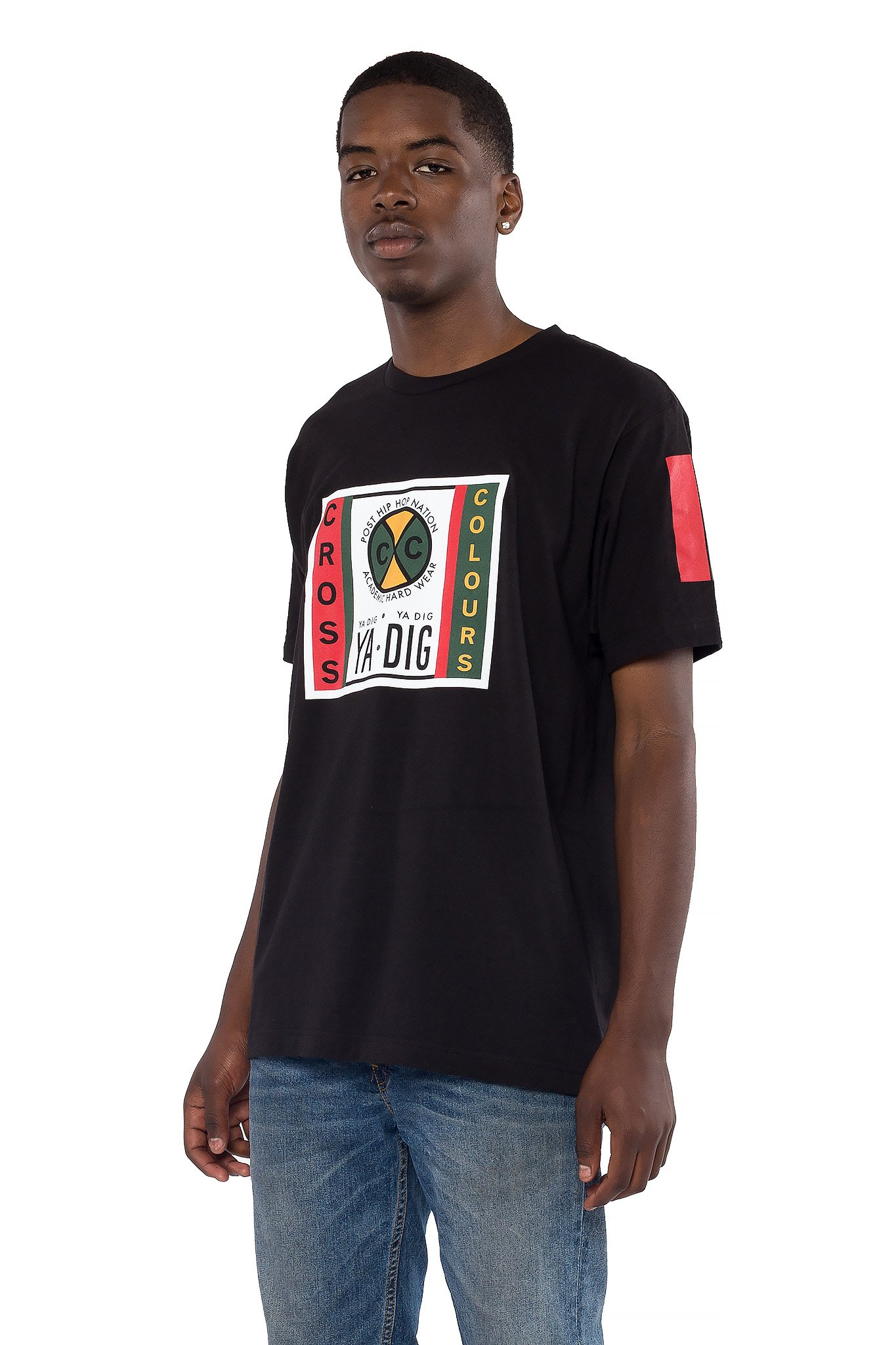 Cross_Colours_Label_Logo_TShirt__Black