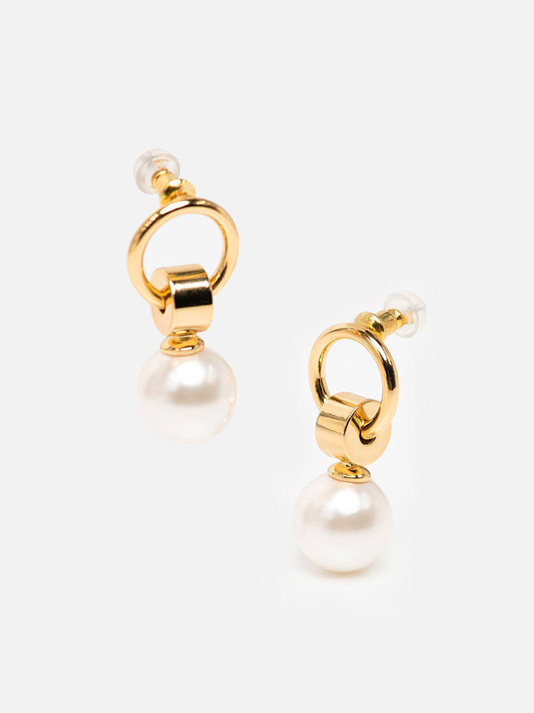 Pearl_Pierced_Earrings