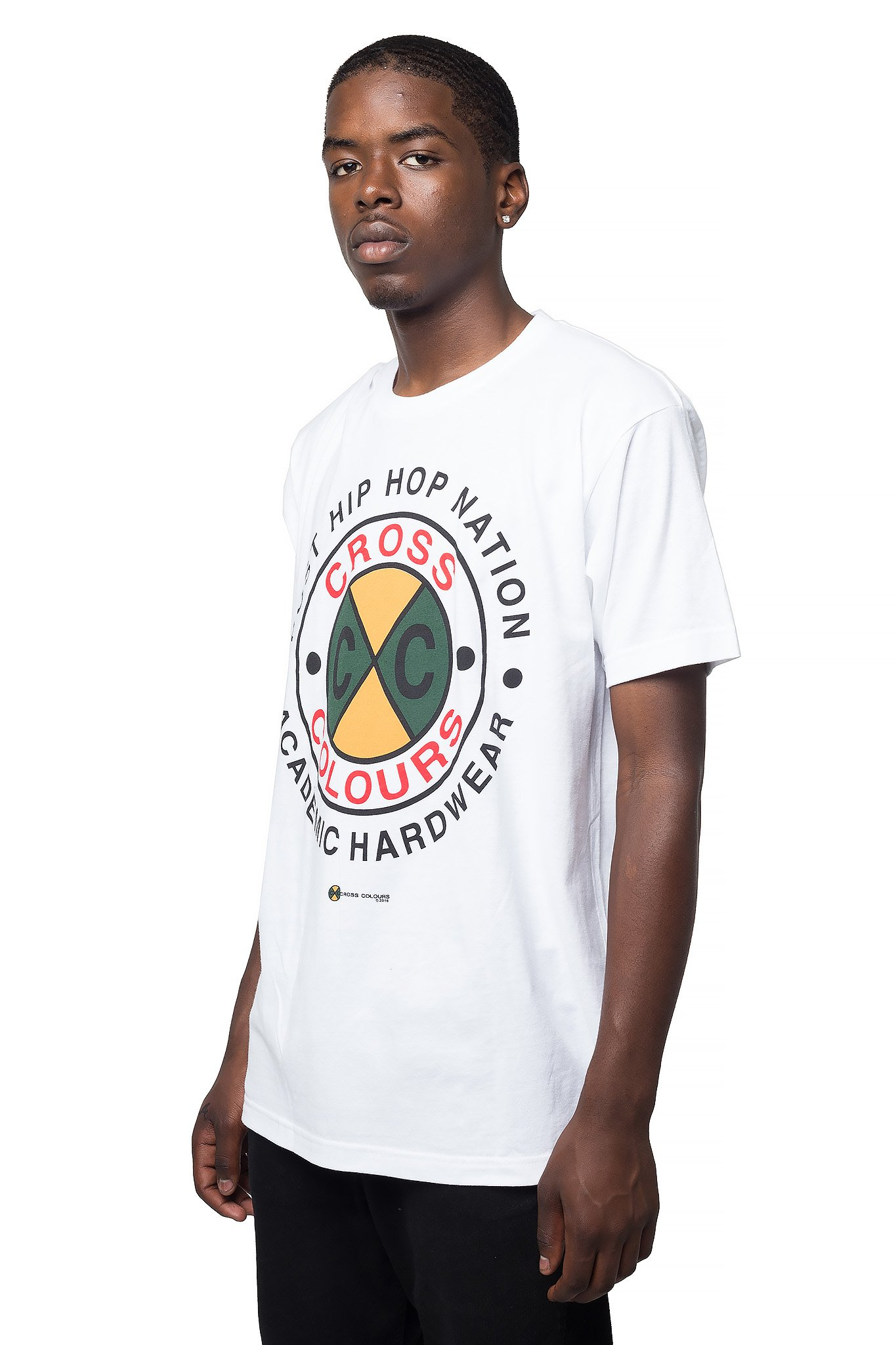 Cross_Colours_Academic_Hardwear_TShirt__White