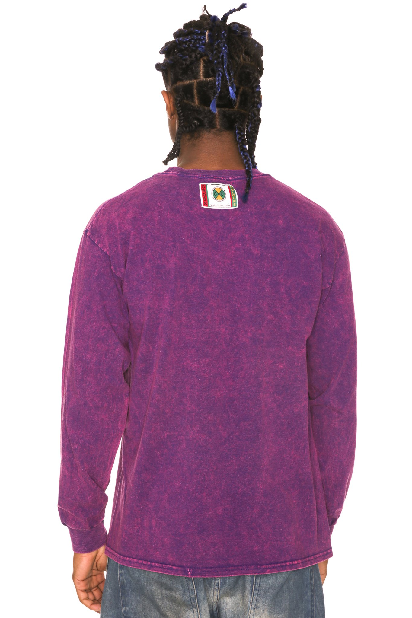 Cross_Colours_Left_Eye_Glasses_Long_Sleeve_TShirt__Purple