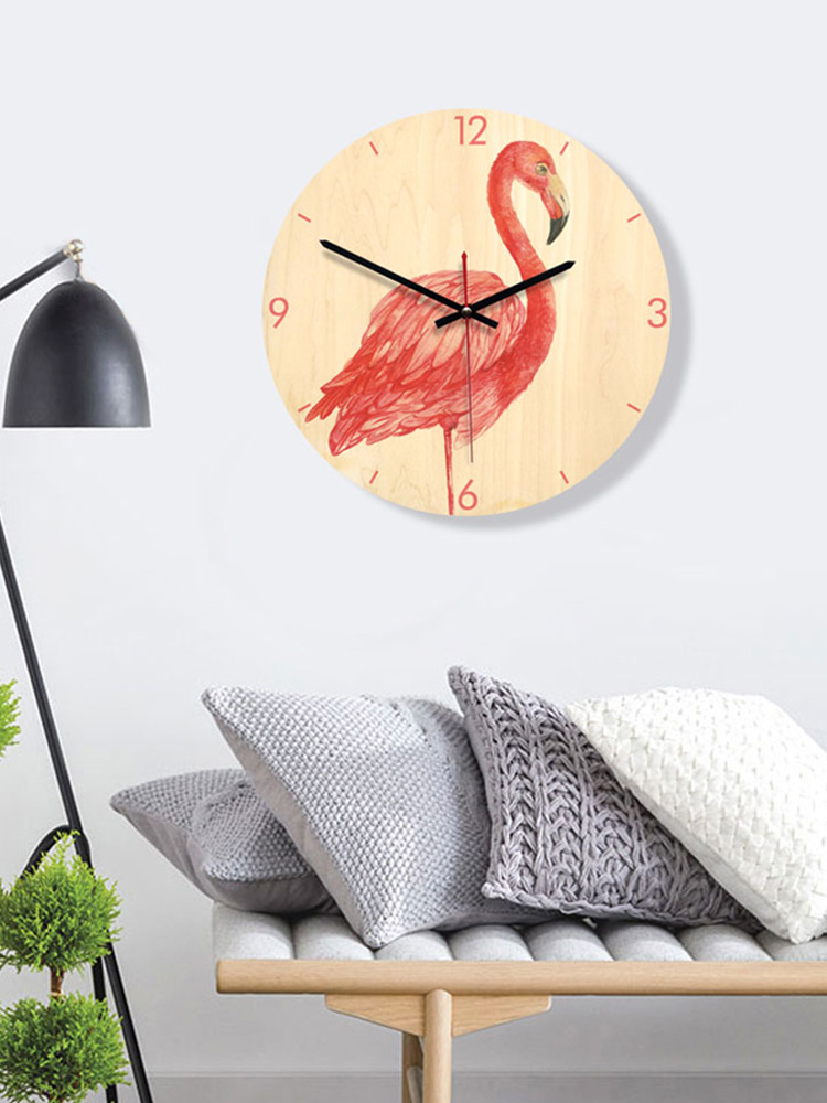 Flamingo_Wall_Clock